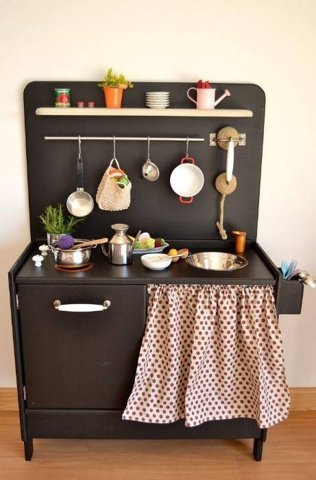 30-pretend-kitchens-we-kind-of-wish-were-real-kid-kitchens-black-kid-kitchen-with-polka-dot-curtain-578850bb81c866970ee812c1-w620_h800